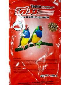 TEAM อาหารนกฟินซ์ สูตรสำหรับนกฟินซ์โดยเฉพราะ บรรจุ 10 กิโลกรัม