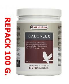 Calci-lux วิตามินบำรุงกระดูก เสริมแคลเซี่ยม สำหรับนกที่เลี้ยงในบ้าน แบ่งจำหน่าย 100 กรัม