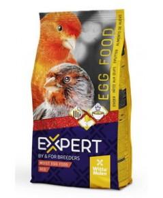 EXPERT FOOD RED อาหารไข่บำรุงขนสีแดง เร่งบำรุงสีแดงของขนให้สดสวย บรรจุ 1 กิโลกรัม