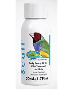 VITAPETS Scatt ใช้ในการรักษา และกำจัด  ตัวใร ปรสิต เห็บ หมัด แบ่งจำหน่าย 50 ml.