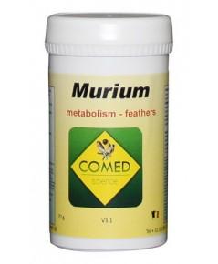 COMED MURIUM อาหารเสริมป้องกันการผลัดขนยาก ผลัดขนหลุดไม่หมด กระตุ้นการผลัดขน บรรจุ 70 กรัม