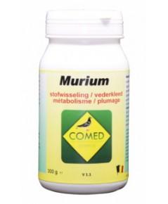 COMED MURIUM อาหารเสริมป้องกันการผลัดขนยาก ผลัดขนหลุดไม่หมด กระตุ้นการผลัดขน บรรจุ 300 กรัม