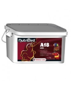 Nutribird A18 อาหารนกลูกป้อนนกโลรี บรรจุ 3 กิโลกรัม