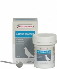 Muscus Power ละลายเสมหะในช่องคอไก่ และนก แก้อาการคอดัง ระบบทางเดินหายใจติดขัด หงอย ซึม บรรจุ 30 กรัม