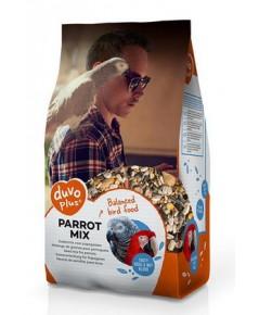 DUVO PARROT MIX อาหารนก มาคอร์ แอฟกันเกร์ อีเล็คตรัส คอนนัวร์ แขกเต้า แก้วโม่ง บรรจุ 12.5 กิโลกรัม