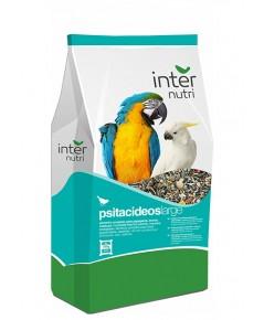 INTERNUTRI PARROTS อาหารนก มาคอร์ แอฟริกันเกร์ กระตั้ว อีเล็คตรัส  บรรจุ 12.5 กิโลกรัม