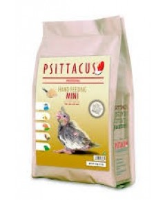 Psittacus Mini Hand Feeding อาหารลูกป้อน กลิ่นหอมมาก สูตรสำหรับลูกนกทั่วไป บรรจุ 5 กิโลกรัม