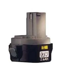 แบตเตอรี่นิเกิล-แคดเมียม Makita 1234 12V 2.6Ah Ni-MH Battery Pack