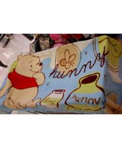 ผ้าขนหนู หมีพูห์ Pooh ขนาด 30x60 นิ้ว งานแท้ค่ะ