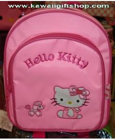 กระเป๋าเป้สะพายหลังคิตตี้ kitty  (ขนาด10x9 นิ้ว)