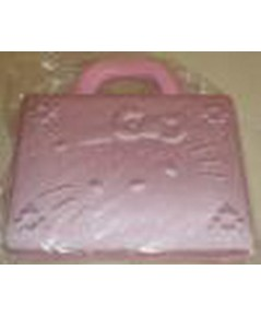 กระเป๋าโน๊ตบุ๊ค คิตตี้ ขนาด14-15นิ้ว (กันกระแทก) สีชมพู