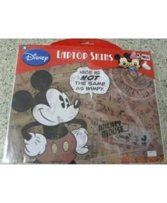 สติ๊กเกอร์กันลอย โน๊ตบุ๊ก มิกกี้เม้าส์ Mickey mouse