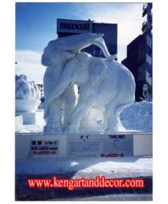 แกะสลักน้ำแข็งหิมะ นานาชาติ เมืองซับเปอร์โร ประเทศญี่ปุ่น