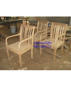 เก้าอี้ไม้สัก10
