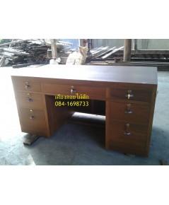 โต๊ะทำงานไม้สักP16