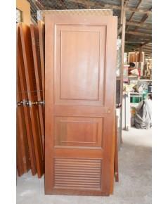 ประตูไม้สัก 75*200 ซม.
