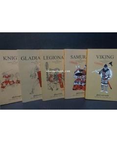 คู่มือนักรบโบราณ Warrior\'s Manual ครบชุด 5 เล่ม 5 รสชาติ