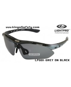 แว่นตาLightpro LP001-GREY ON BLACK
