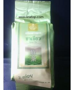 ชาเขียว (Green Tea) โครงการหลวง (น้ำหนัก 1  ห่อ หนัก 50 กรัม )