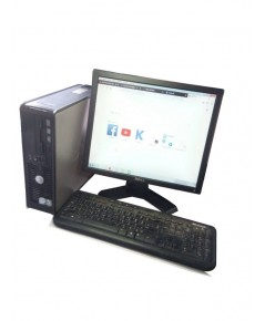 DELL PC Desktop Optiplex745 Intel Core2Duo 1.86GHz+LCD Dell 17นิ้วครบชุด