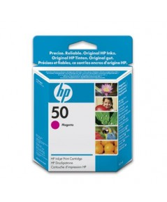 HP 50 Inkjet Print Cartridges (51650MA)