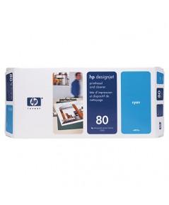 HP No 80 Cyan Printhead (C4821A)