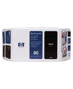 HP 80 Ink Cartridges (C4871A)