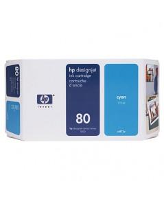 HP 80 Ink Cartridges (C4872A)