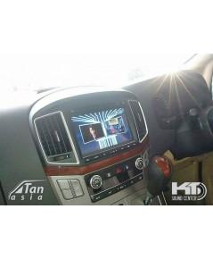 ตัวอย่าง Hyundai H1 ติดดิจิตอลทีวี นอกสถานที่