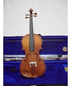 Flamed Violin รุ่น KCV-100-1 สีน้ำตาลแดง