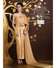 ชุดไทยศิวาลัย สีทอง TSM 000886
