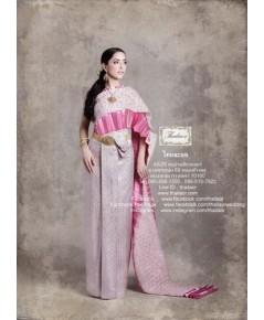 ชุดไทยศิวาลัย สีชมพูกลีบบัว TSM 000894