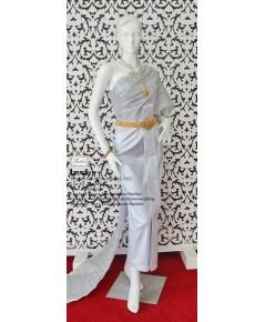 ชุดไทยศิวาลัย สีเทาเงิน TS 000900