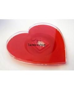 ตัวเรือนเปล่าทรงหัวใจ - Wall Clock Body Heart ขนาด 11 นิ้ว