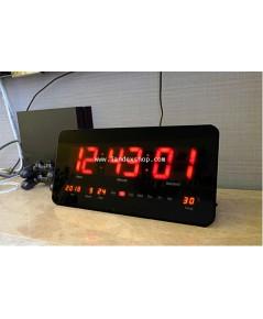 ฺ๋JB414301R  นาฬิกา พร้อม ปฎิทิน แขวน LED J.point  หน้าจอสีแดง
