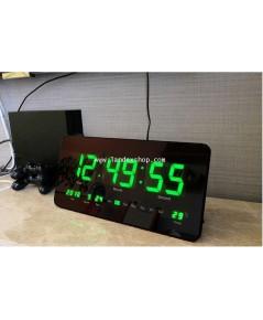ฺ๋JB414301G นาฬิกา พร้อม ปฎิทิน แขวน LED J.point  หน้าจอสีเขียว
