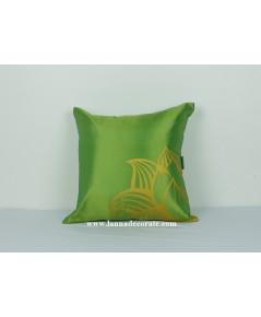 ลาย ดอกบัว สีเขียว
