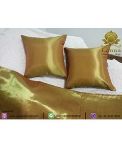 ชุดตกแต่งเตียง คอลเล็คชั่น สีล้วนสีทอง
