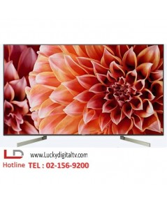 Sony LED TV 85 นิ้ว รุ่น KD-85X9000F 4K Ultra HD High Dynamic Range HDR สมาร์ททีวี Android TV