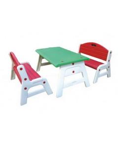 LAA 1205 โต๊ะเก้าอี้ชมสวน