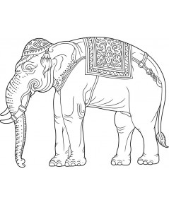 ลายไทย ช้างไทย