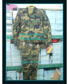 ขายชุดทหาร ชุดทหารรบพิเศษ ทหารเรือกันลมผ้าพอใช้