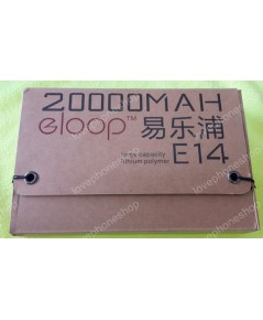 แบตสำรอง Eloop E14 powerbank แบตสำรอง 20000 mAh แท้!! (ส่งฟรี)