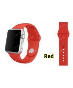 สายนาฬิกา Apple Watch สีแดง (รองรับ Series1/2) 38 มม. (ส่งฟรี)