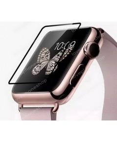 ฟิล์มกระจก 9H Perfect Glass แบบใสขอบดำ for Apple Watch 42mm. (รองรับ Series1/2) ส่งฟรี!!!