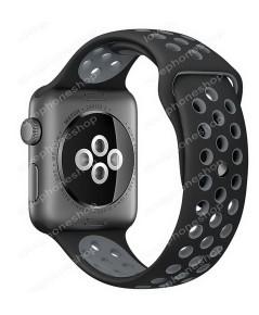 สาย Apple Watch Nike Sport Band 2 โทน สีดำ-เทา (รองรับ Series1/2) 42 มม. (ส่งฟรี)
