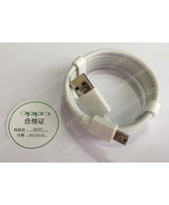 สาย ชาร์ต USB OPPO   ( สีขาว ) ส่งฟรี!!