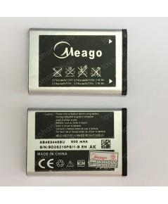 แบตเตอรี่ มอก. Meago สำหรับ Samsung C3303/W2652 - AB553446BU (ส่งฟรี)