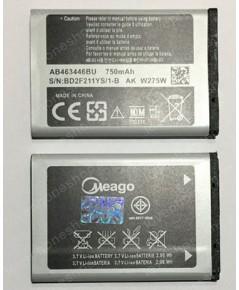 แบตเตอรี่ มอก. Meago Samsung E1080/E3309/E1107/M3200/X150,160/C130,C140,C160ฯลฯ-AB463446BU (ส่งฟรี)