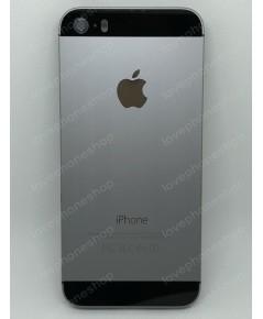 ชุดฝาหลัง (back housing) iPhone 5S สีเทาดำ (ส่งฟรี)